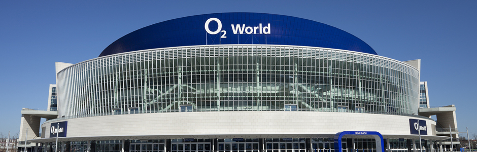 Die o2 World in Berlin